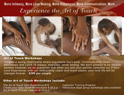 Art of Touch flyer