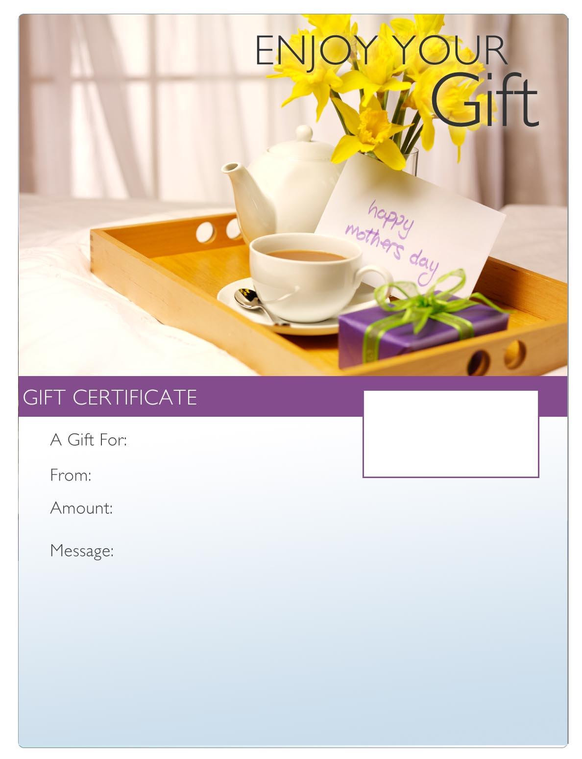 Mothers day massage gift certificate vki personal development yelopaper Gallery