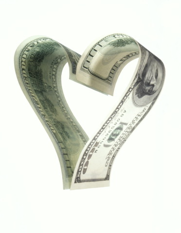money-heart