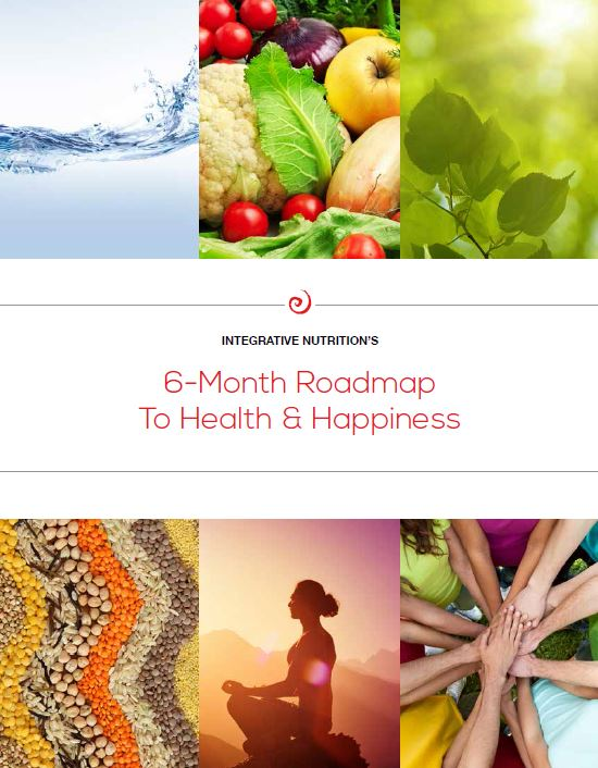 6-month roadmap to health and happiness IIN guide cover