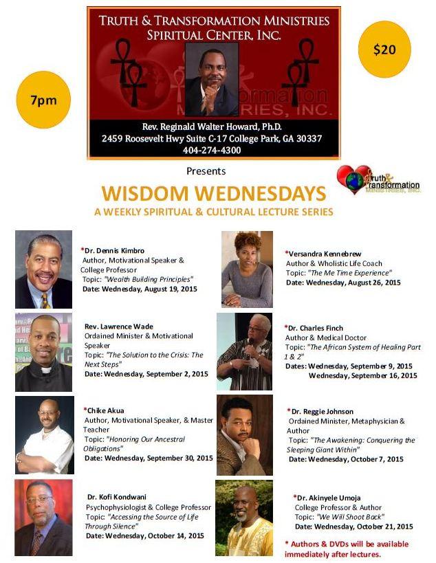 Wisdom Wednesdays at TTM